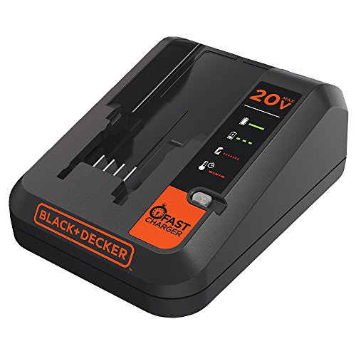 - BLACK+DECKER 20V MAX Lithium Battery Charger, 2 Amp (BDCAC202B)