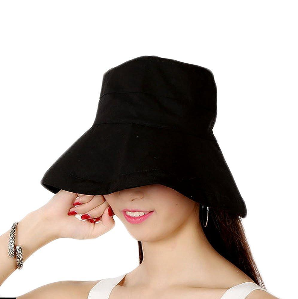 GTKC Grande Insieme di Estate Cappello per il Sole, il Pieghevole all'Aperto protezione Solare Anti-UV Signora Cappello di Stoffa