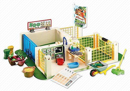 Playmobil Add-On Series - Zoo Animal Haven (Zoo Playmobil)