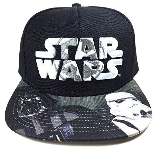 Star Wars Darth Vader Stormtrooper Galactic Empire Logo Snapback