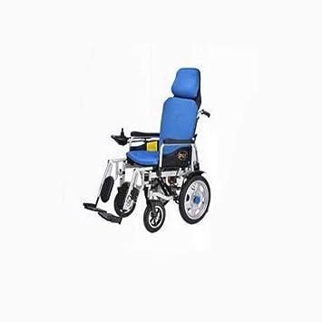 Silla De Ruedas Eléctrica Discapacitados para Ancianos Scooter Portátil Plegable De Cuatro Ruedas De Edad Avanzada: Amazon.es: Deportes y aire libre