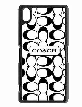 Sony Xperia Z2 Funda Carcasa, Coach Brand Logo Sony Z2 ...