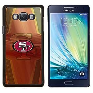 Qstar Arte & diseño plástico duro Fundas Cover Cubre Hard Case Cover para Samsung Galaxy A7 A7000 (SF Equipo deportivo)