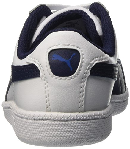 Puma Smash Fun L - Zapatillas de deporte Niños Blanc (White/Peacoat)