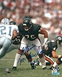Autographed Steve McMichael 8x10 Chicago Bears Photo with COA