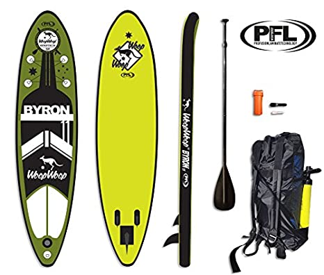 WoopWoop Tabla Paddle Surf Hinchable Byron 11 PFL SUPPFL17: Amazon ...