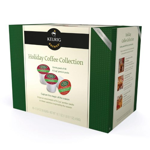 Keurig Holiday Coffee Collection for Keurig Brewers, 48-Count Box, K-Cups (Keurig Gingerbread Coffee compare prices)