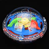 F_Gotal Toys for Boys Girls Clearace - Baby Kids Toddler Educational Toys 75 Barriers Mini Ball Maze Intellect 3D Puzzle Toy Learing Toys for Kids Child Adults Gifts