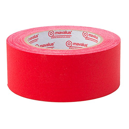 Mavalus Premium Gaffers Tape - 2 In X 25 Yds - Red by Mavalus