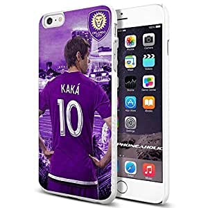 MLS Orlando City FC soccer KAKA Player 10 , , Cool iphone 5s (+ , Inch) Smartphone Case Cover Collector iphone TPU Rubber Case White [By PhoneAholic]