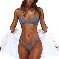 Shuda Traje de Baño Mujer Bikinis Brasileños Halter