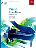 #5: Piano Exam Pieces 2019 & 2020, ABRSM Grade 4, with CD: Selected from the 2019 & 2020 syllabus (ABRSM Exam Pieces)