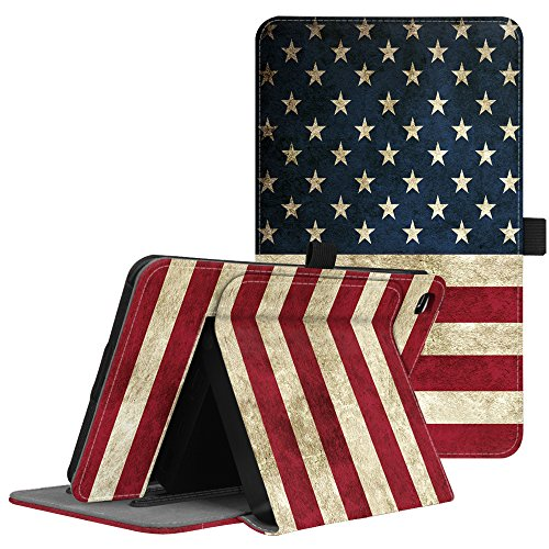 Fintie T-Mobile LG G Pad X2 8.0 Plus Case (Support Extra Battery Plus Pack), Multi-Angle Viewing Stand Cover for LG GPad X2 8.0 Plus T-Mobile Model V530 8-Inch Android Tablet 2017 Release, US Flag