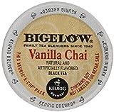 Bigelow Vanilla Chai Tea, Keurig K-Cups, 72 Count