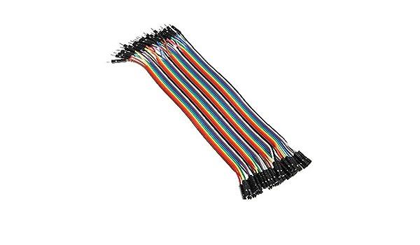 LaDicha 40 X 30 Cm Macho A Hembra Dupont Tablero Puente Cable ...