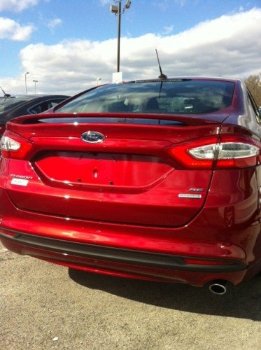 Amazoncom 2013 18 Ford Fusion Spoiler Painted Uh Automotive