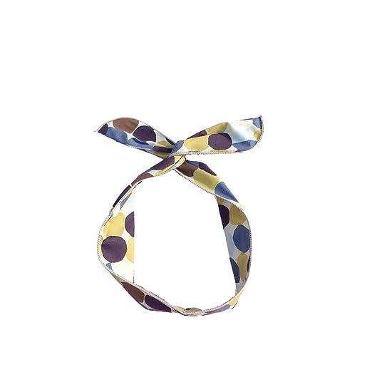 qinlee cinta multicolor patrón Cintas para el pelo Yoga ...