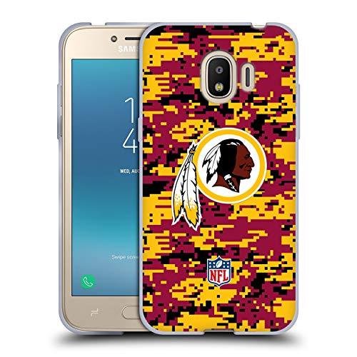 (Official NFL Digital Camouflage 2018/19 Washington Redskins Soft Gel Case for Samsung Galaxy J2 Pro (2018))