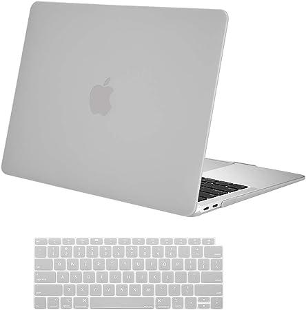 MOSISO Funda Dura Compatible 2018 MacBook Air 13 Pulgadas A1932 con Pantalla Retina /& Touch ID Cristal Ultra Delgado Carcasa R/ígida Protector de Pl/ástico Cubierta