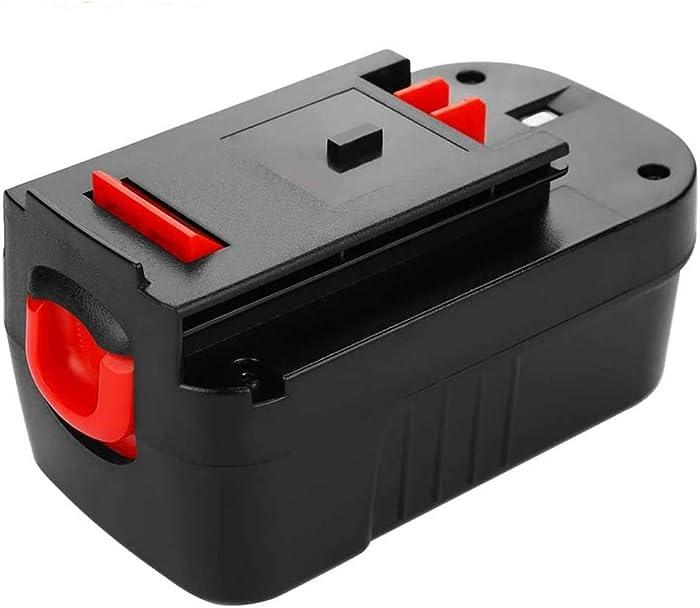3600mAh 18Volt Replace for Black and Decker 18V Battery Replacment Ni-Mh, Compatible with B&D18 Volt HPB18 HPB18-OPE 244760-00 A1718 FS18FL FSB18 Firestorm Cordless Power Tools