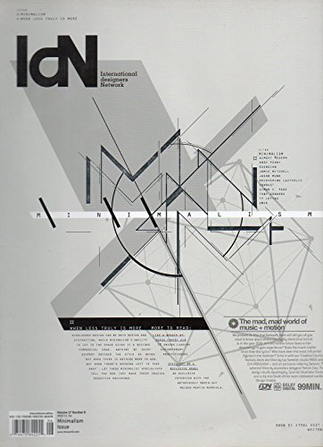 IDN International Designers Network 2010 Vol 17 No. 6 MINIMALISM ISSUE When Less Truly Is More