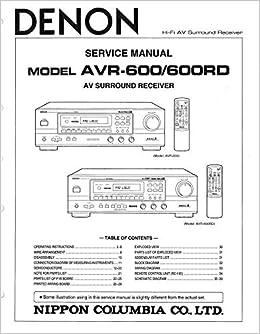 denon avr 4308ci service manual download