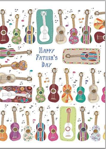 Tarjeta de felicitaciones de cumpleaños guitarras Bontempi ...