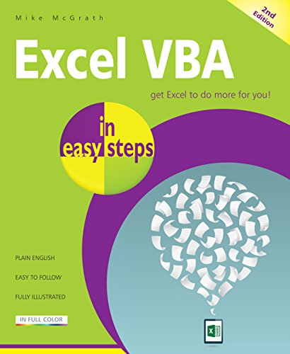 Excel VBA easy steps 2nd ebook product image