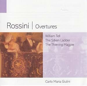 Rossini Overtures - Philharmonia Orchestra Carlo Maria Giulini