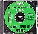 1968 Oldsmobile CD Repair Shop Manual & Body Manual