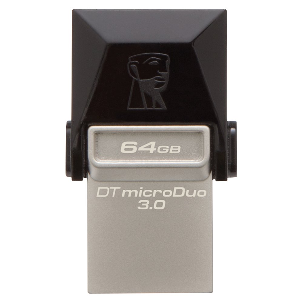 Kingston Digital 64GB Data Traveler Micro Duo USB 3.0 - DTDUO3/ 64GB
