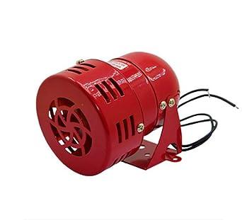 BAOSHISHAN Mini motor impulsado aire Raid Siren Metal Horn industria alarma de seguridad de emergencia 220 V