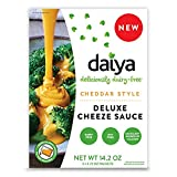 DAIYA FOODS INC, Cheeze Sce, Cheddar Style, Pack of 8, Size 14.2 OZ, (Dairy Free Gluten Free)