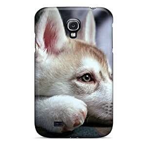 Galaxy S4 Case Cover - Slim Fit Tpu Protector Shock Absorbent Case (nature Animals Dogs)