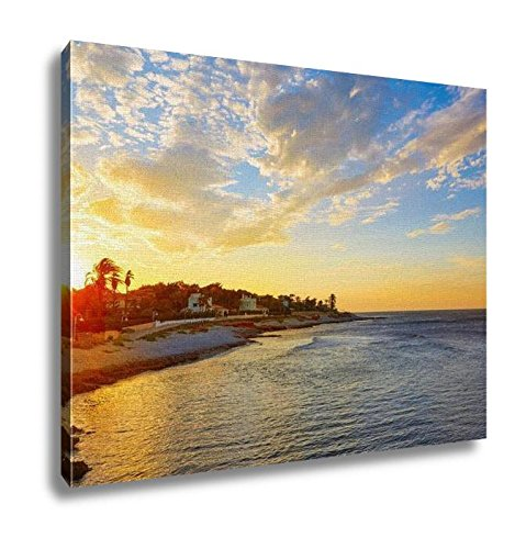 Ashley Canvas, Denia Sunset Las Rotas In Mediterranean Spain, Home Decoration Office, Ready to Hang, 20x25, AG6518860 by Ashley Canvas