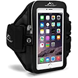 Armpocket Mega i-40 Armband, Black, Large Strap for iPhone 11, 11 Pro, XS, XR, X, 8, Galaxy Note 10, S10, S10e, S9+, Pixel 3, 2 and Pixel 2 XL, XL or Phones and Cases up to 6.5 Inches