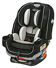 The Graco 4Ever Extend2Fit 4-in-1 Convertible Car Seat gives you 10 years with one car seat. It's comfortable for your child and convenient for you as it transitions from rear-facing infant car seat (4-50 lb) to forward-facing 5-point harness...