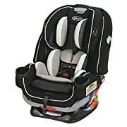 Graco 4Ever Extend2Fit All in One Convertible Car Seat, Clove, One Size