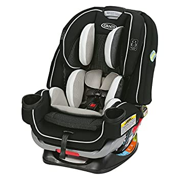 Graco 4Ever Extend2Fit 4 in 1 Automotive Seat | Experience Rear Going through Longer with Extend2Fit, Clove