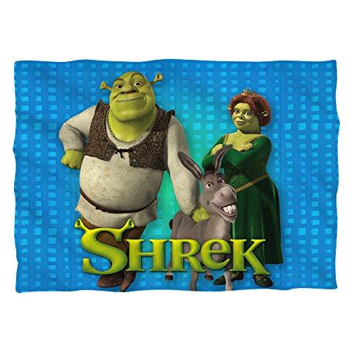 Shrek Pals (Front Back Print) Poly 20X28 Pillow Case White One Size