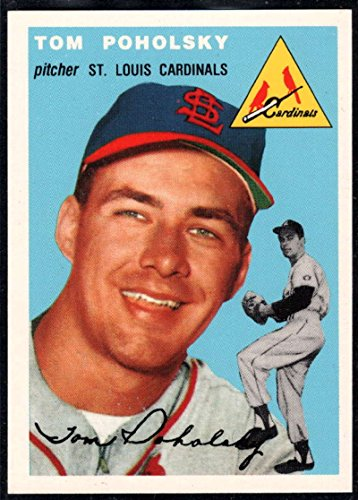 142 Tom - Baseball MLB 1994 Topps Archives 1954 #142 Tom Poholsky Cardinals