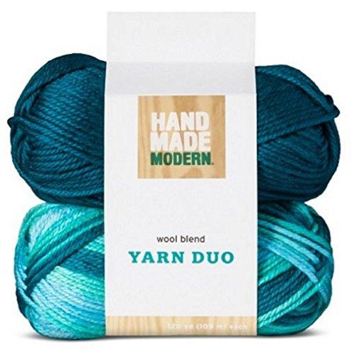 Wool Blend Yarn 2pk – Blue – Hand Made Modern