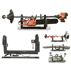 All Season Multi-Purpose 3-PLACE Carrier Rack Holder ATV Snowmobile UTV Mount For Metal or Composite Rack (For Polaris ATV COMPOSITE Rack)