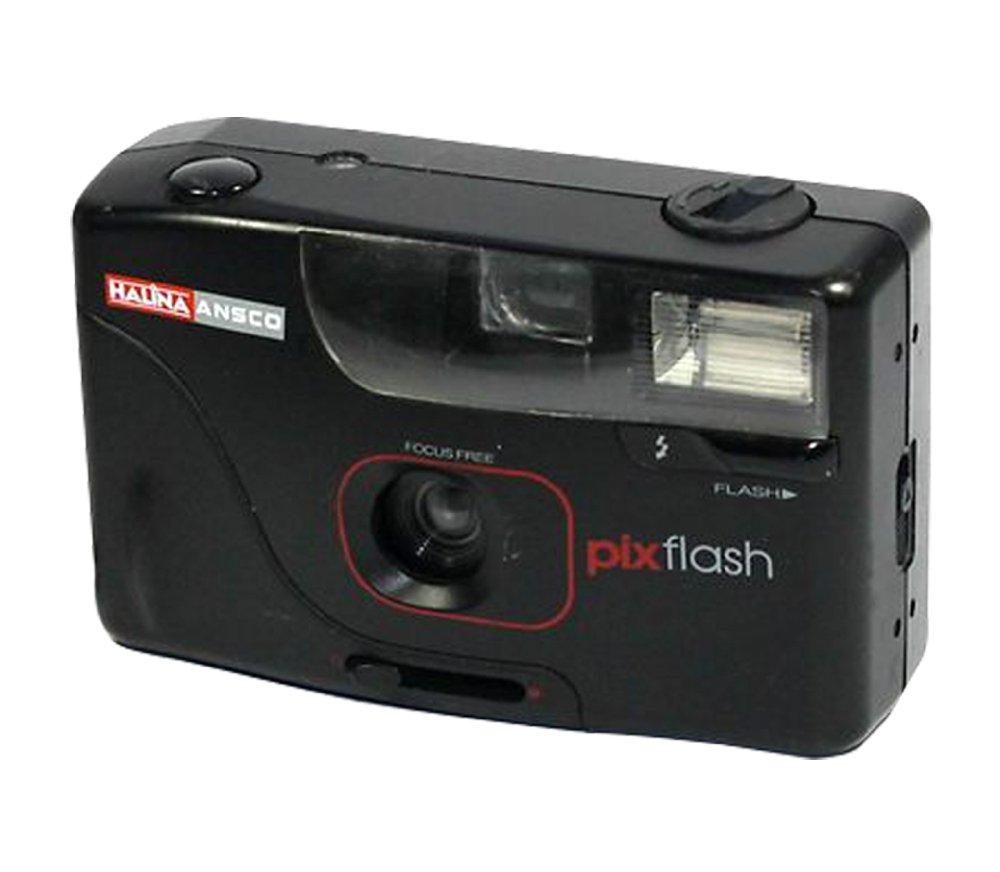 Halina Ansco Pix Flash 35mm Film Camera Vintage Point & Shoot Auto Focus