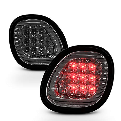 ACANII - For Smoked 1998-2005 Lexus GS300 GS400 GS430 Lumileds LED Inner Tail Trunk Lights Lamps Driver Passenger ()