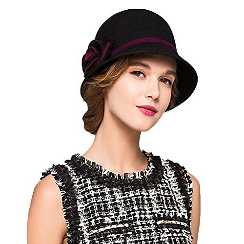 Maitose™ Women s Bow Wool Felt Bucket Hat  5BIKe0809269  -  25.99 887803b72f1b