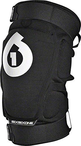 SixSixOne - Rage Bike Knee Pad, Black, Small ()