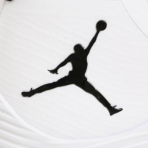 Nike, Uomo, Jordan Ultra Fly 2, Tessuto tecnico, Basket, Bianco WHITE/BLACK-WHITE