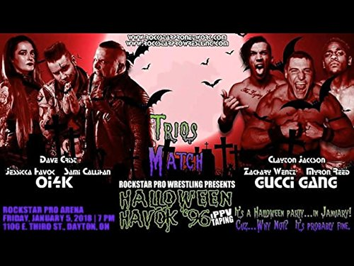 Rockstar Pro Halloween Havok '96 A Three Hour Extravaganza]()