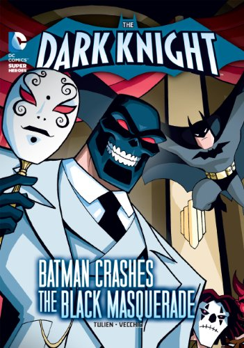 The Dark Knight: Batman Crashes the Black Masquerade (Catwoman Without Mask)